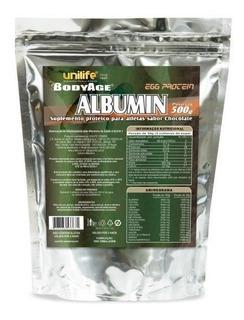 Albumina Life Egg Sabor Chocolate Unilife (sachê) 500g