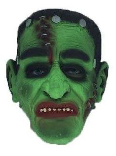 Máscara Frankstein 100% Latex Cosplay Fantasia Spook
