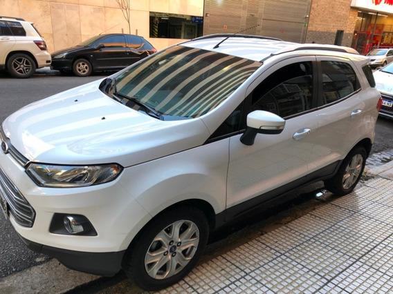 Ford Ecosport Titanium 1.6 Unica Mano Dueño Directo Año 2013