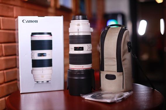 Lente Canon Ef 70-200mm F/2.8l Is Ii