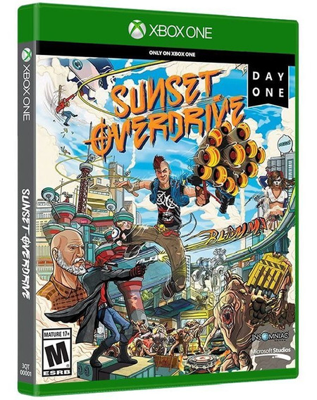 Sunset Overdrive - Xbox One - Mídia Física Lacrada Original
