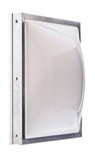 Domos Claraboia Telhado Acrilico Branco Leitoso 0,65x0,65m