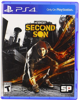 Infamous Second Son Ps4 Nuevo Fisico Sellado