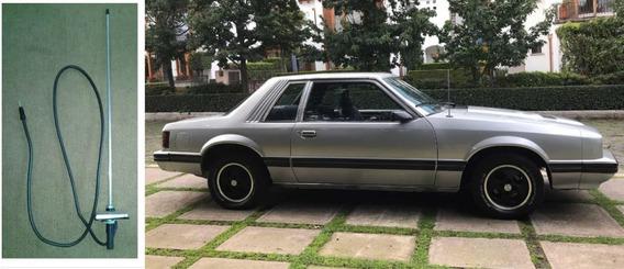 Antena Salpicadera 42 Cm Rectanglar Ford Mustang 80s Y 90s