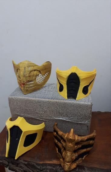 Mascaras Scorpion De Mortal Kombat