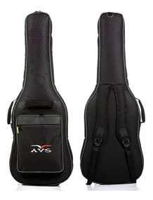 Bag Capa Para Guitarra Nylon Super Luxo Avs Ch 200