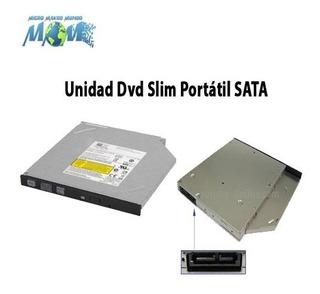 Unidad Dvd Slim Portátil Sata