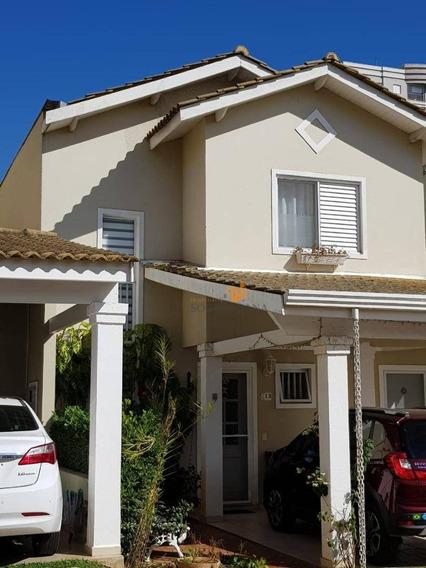 Casa Com 3 Dormitórios À Venda, 134 M² Por R$ 690.000 - Condomínio Villa Campolim - Sorocaba/sp - Ca0060