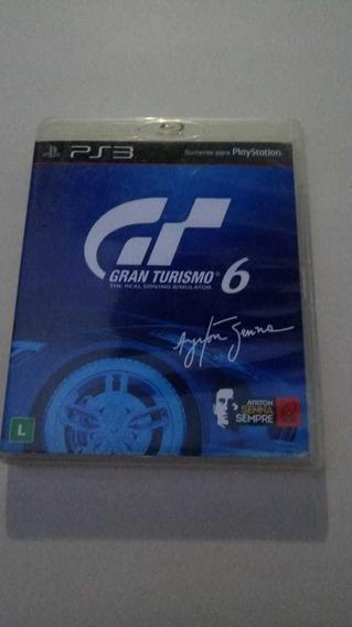 Gran Turismo 6 Ps3 Mídia Fisica