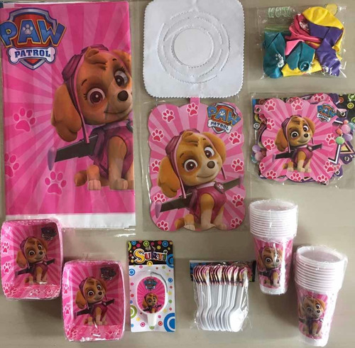 Decoración Fiesta Piñata Infantil Sky Paw Patrol
