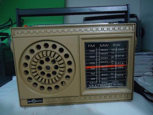 Radio Portatil Motoradio Funcionando