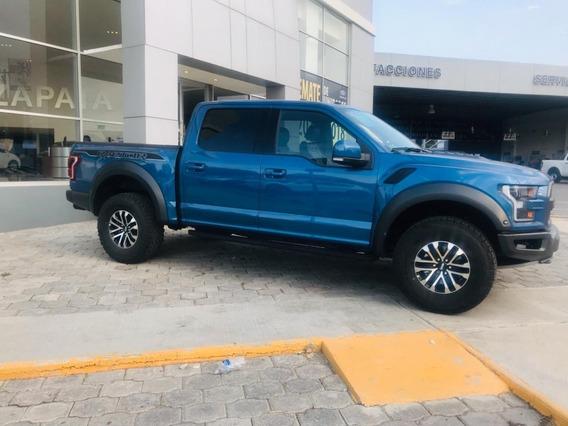 Ford Raptor Crew Cab 4x4 2019 Azul