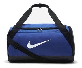 Bolsa Nike Brasilia Duffel Azul Masc 40l Ba5335480 Original