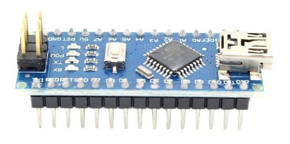 Placa Nano V3 Com Cabo Usb ( Compatível Com Arduino )