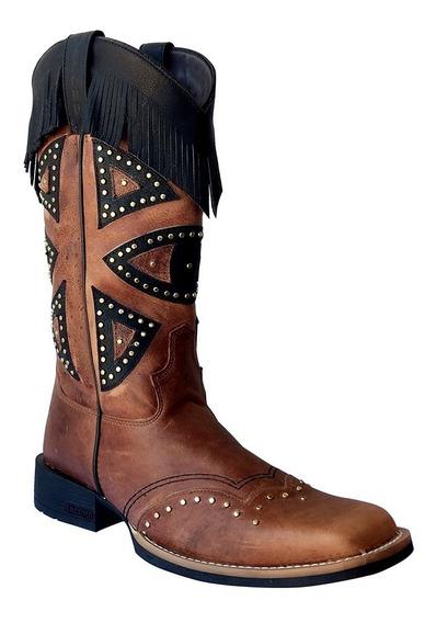 Bota Country Texana Feminina Jácomo 4151/uf Promoção