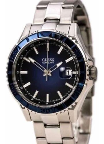 Relógio Guess Inox Blue Ceramic Original