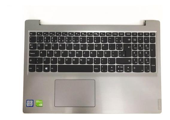 Base Teclado Lenovo Ideapad 15 S145 Novo Cinza