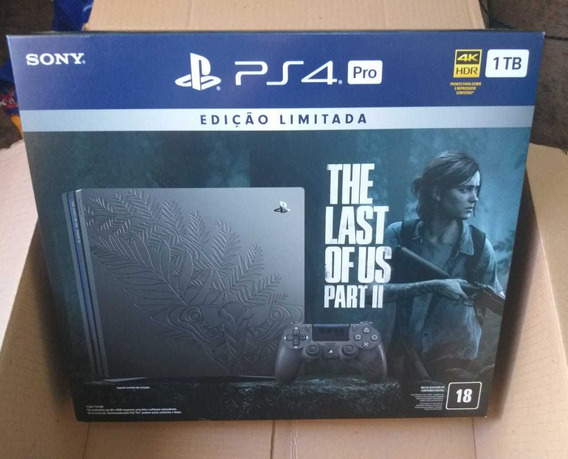 Playstation 4 Pro - Ps4 - Especial The Last Of Us 2 - Novo