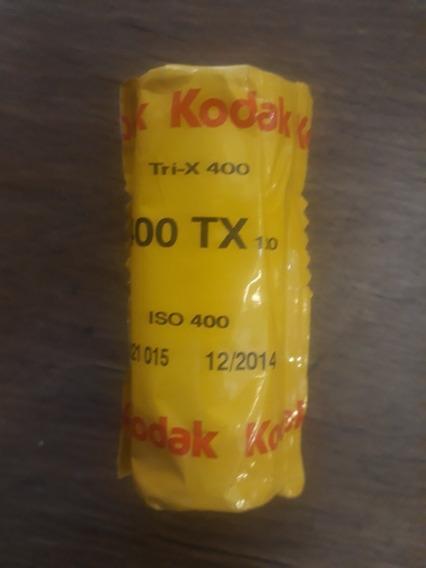 Filme 120mm Kodak Tri X 400