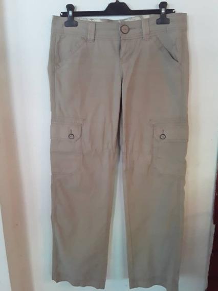 Pantalon Tommy Hilfilguer Caqui Dama