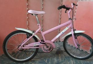 Bicicleta Barbie Rosa Aro 20