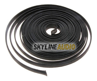 Nylon Malla Cubre Cable Piel De Serpiente 12mm X-1m 3d Audio