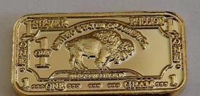 Lingote 1 Grama De Ouro 24 K