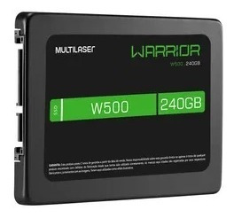 Ssd Gamer Warrior 240gb W500 - Gravação500 Mb/s - Ss210