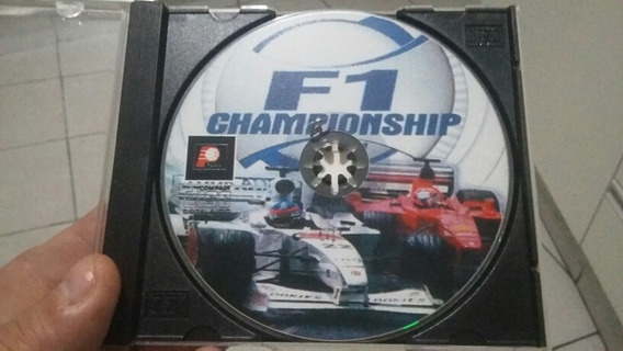 Jogo Ps1 F1 Championship