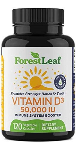Vitamina D3 50,000 Ui Suplemento Semanal