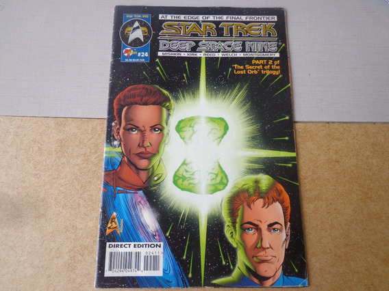 Gibi Star Trek 1995 Jornada Nas Estrelas Ed. Canadá #24