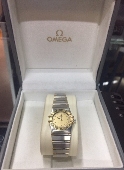 Reloj Omega Constellation De Oro Y Acero De Mujer