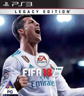 Fifa 2018 Ps3 Latino Entrega Inmediata
