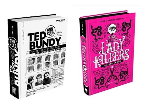 Livro Ted Bundy + Lady Killers - Darkside