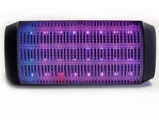 Parlante Bluetooth Inalámbrico Luces Portátil Mini Speaker Auxiliar Miniplug