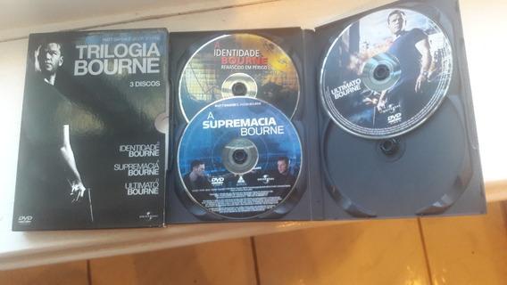 Dvd Trilogia Bourne - 03 Dvd Originais