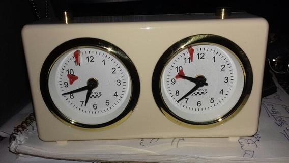 Reloj Analogico Ajedrez