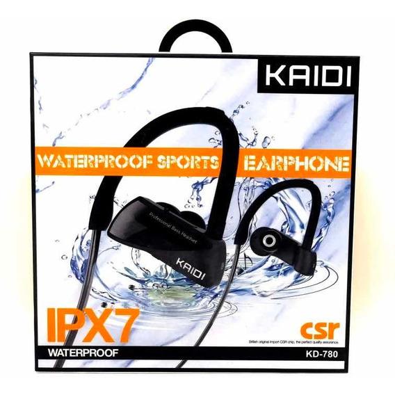 Fone De Ouvido Bluetooth Kaidi - Ipx7 À Prova D
