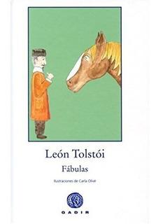 Fábulas - Tapa Dura, León Tolstoi, Gadir