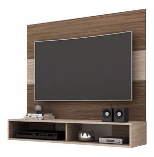 Mueble Tv Rack - Alpes Malbec Hogar Departamento Liviano