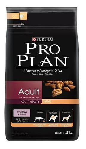 Proplan Perro Adulto Cordero Arroz 15.9 Kg Pro Plan Bulldog