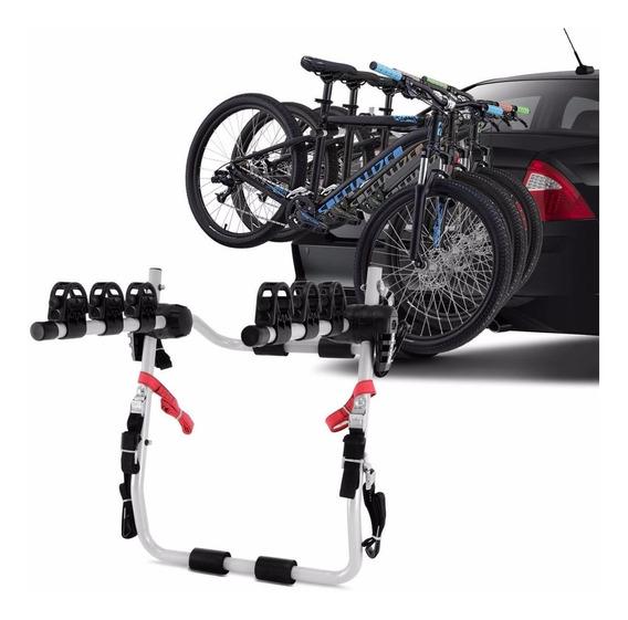 Suporte P/ 3 Bikes Transbike Universal Porta Malas Eqmax