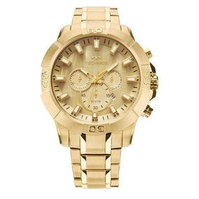 Relógio Dourado Masculino Legacy Technos Js26ae/4x