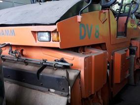 Rolo Compactador Hamm Dv8 Ano 2001