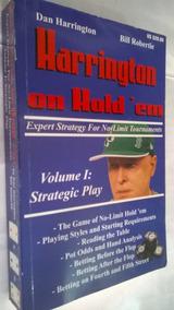 Livro -harrington On Hold´em-vol 1 Strategic Play P/ Poker