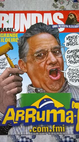 Revista Bundas No.47: Fhc - Humor E Sátira Política / Nova!!