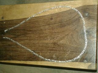 Cordão De Prata Italiana 925 Com 60cm