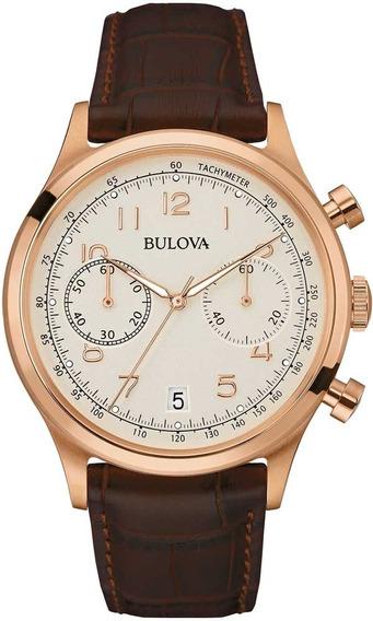 Relógio Bulova Masculino Classic Cronógrafo Wb22391b