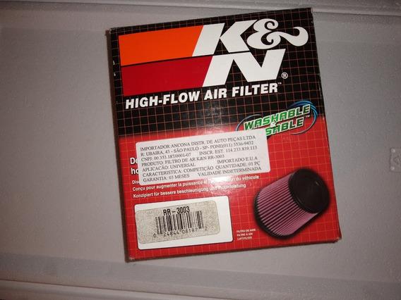 Filtro Duplo Fluxo Cônico Esportivo K&n Rr-3003
