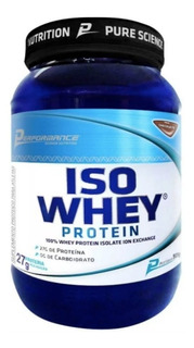 Iso Whey Protein 909g - Performance (vários Sabores)